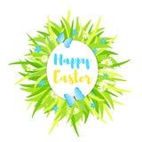 Fondo variopinto felice di Pasqua Immagini Stock