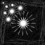 Fondo-vector retro abstracto negro EPS 10 Imágenes de archivo libres de regalías