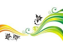 Fondo vegetativo. ilustración del vector