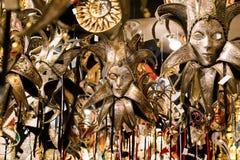 Fondo veneciano hermoso de las máscaras Imagenes de archivo