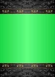 Fondo verde Fotografia Stock Libera da Diritti