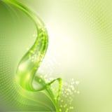 Fondo verde abstracto ilustración del vector
