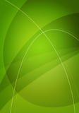 Fondo verde abstracto Fotos de archivo