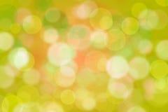 Fondo verde abstracto de Bokeh Ilustración del Vector