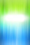 Fondo verde abstracto de las luces del día de fiesta Imagen de archivo