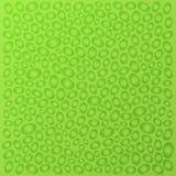 Fondo verde abstracto decorativo con las burbujas Vector ilustración del vector