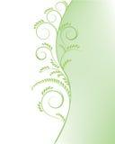Fondo verde abstracto del árbol Fotos de archivo libres de regalías