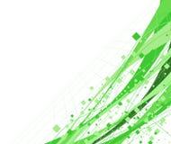 Fondo verde abstracto del decorational Imagen de archivo libre de regalías