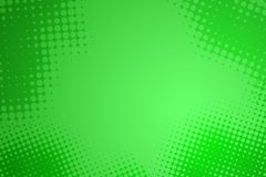 Fondo verde abstracto del punto del tono medio Imagen de archivo libre de regalías