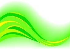 Fondo verde abstracto del vector Imagen de archivo
