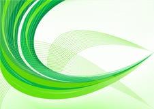 Fondo verde abstracto del vector Foto de archivo libre de regalías