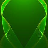 Fondo verde abstracto del vector Foto de archivo