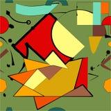 Fondo verde abstracto, modelo inconsútil Imagen de archivo libre de regalías
