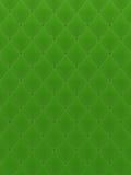 Fondo verde acolchado Imágenes de archivo libres de regalías