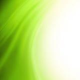 Fondo verde astratto Immagini Stock
