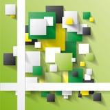 Fondo verde astratto immagini stock libere da diritti