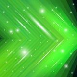 Fondo verde astratto Fotografie Stock Libere da Diritti