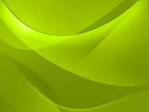Fondo verde astratto Immagine Stock