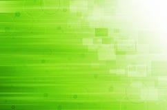 Fondo verde astratto di tecnologia illustrazione di stock