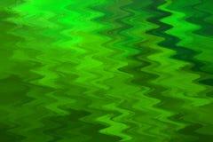 Fondo verde astratto ondulato Fotografia Stock Libera da Diritti