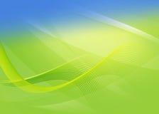 Fondo verde astratto per progettazione Immagini Stock