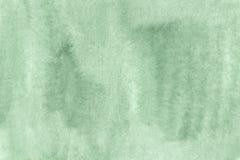 Fondo verde attillato protetto dell'acquerello Immagine Stock Libera da Diritti