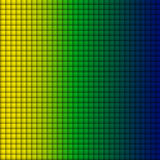 Fondo verde blu di giallo del quadrato della bandiera del Brasile Immagini Stock Libere da Diritti