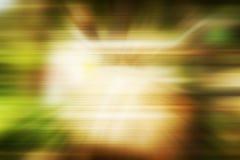 Fondo verde borroso del abstrack Foto de archivo libre de regalías