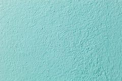 Fondo verde claro de la pared del cemento Fotografía de archivo libre de regalías