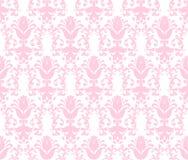 Fondo verde claro inconsútil del papel pintado floral Imagen de archivo libre de regalías