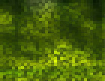 Fondo verde con i cubi Immagine Stock Libera da Diritti