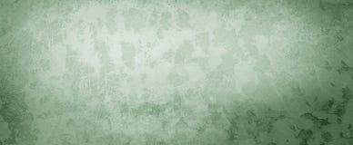 Fondo verde con i lotti di pelatura della struttura di lerciume della ruggine o della pittura, vecchia progettazione elegante del immagine stock libera da diritti