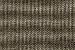 Fondo verde con il modello a quadretti intrecciato, primo piano Struttura del tessuto di tessitura, macro immagine stock
