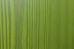 Fondo verde con la estructura de madera Imagen de archivo