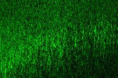Fondo verde con las líneas y las chispas Imagen de archivo libre de regalías