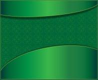 Fondo verde con le foglie del trifoglio Fotografia Stock Libera da Diritti