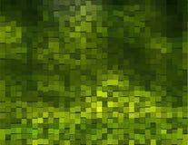 Fondo verde con los cubos Imagen de archivo libre de regalías