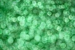 Fondo verde de Bokeh Foto de archivo libre de regalías