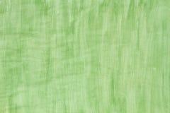 Fondo verde de la acuarela Fotos de archivo