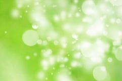 Fondo verde de la naturaleza Foto de archivo libre de regalías