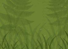 Fondo verde de la naturaleza Foto de archivo