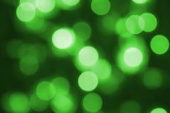 Fondo verde de la Navidad Fotos de archivo libres de regalías