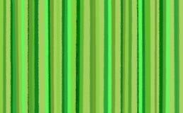 Fondo verde de la raya Foto de archivo
