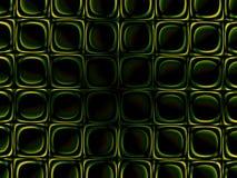 Fondo verde de la simetría ilustración del vector
