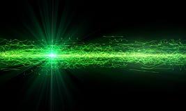 Fondo verde de la tecnología Imágenes de archivo libres de regalías