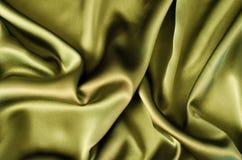 Fondo verde de la tela Foto de archivo