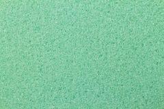 Fondo verde de la textura de la esponja Fotografía de archivo libre de regalías
