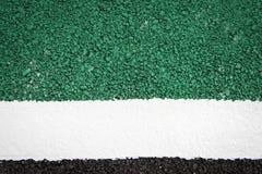 Fondo verde de la textura de la superficie de la carretera Foto de archivo libre de regalías