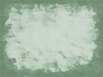 Fondo verde de la vendimia Foto de archivo