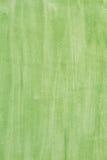 Fondo verde de la vertical de la acuarela Fotos de archivo